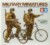 Tamiya 35333 British Paratroopers & Bicycles Set